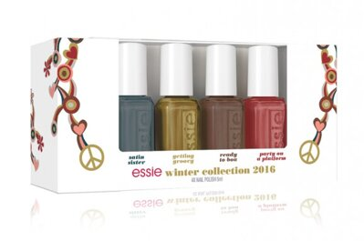 ESSIE Mini Cube Winter Collection 2016 GETTING GROOVY - 4 x 5 ml