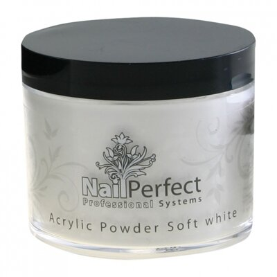 Acrylic Powder Soft White 25g